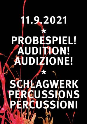 Probespiel! Audition! Audizione!
